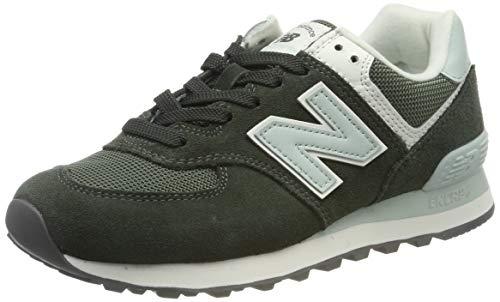 New Balance Damen 574v2 Sneaker, Grün (Green Green), 35 EU