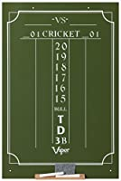 Viper Chalk Scoreboard: Cricket and 01 Dart Games Green 23.5 H x 15.5 W 【Creative Arts】 [並行輸入品]