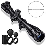 Best 22 Rifle Scopes - CVLIFE 4-16x44 Tactical Rifle Scope Red and Green Review