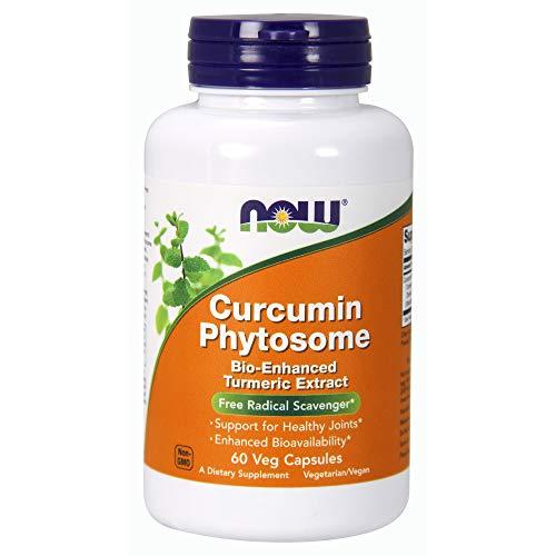 Curcumin Phytosome 500mg (60 cápsulas vegetais) Now Foods