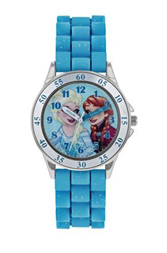 Frozen Girls Analogue Classic Quartz Watch with Rubber Strap FZN9012