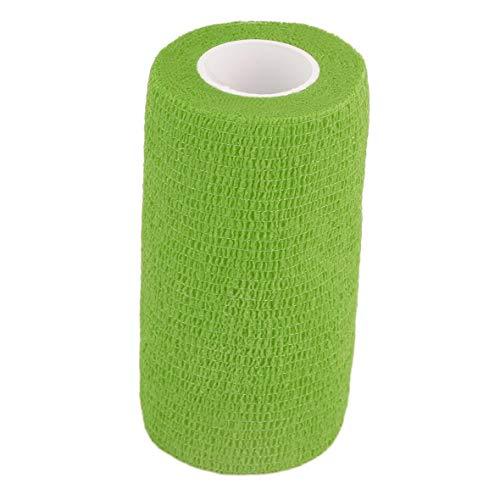 Heaviesk selbsthaftende Bandage Wraps Elastische Erste Hilfe Tape Stretch 4,5 m x 10 cm Frauen Männer Training Fitness Gewichtheben Unterstützung