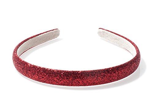 Anna Belen Girls'Priscilla' Glitter Headband O/S Red