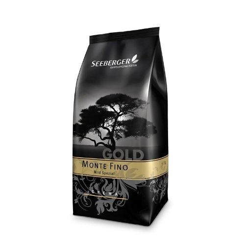 Seeberger Kaffee MONTE FINO (Mild Spezial) 1000g Bohnen