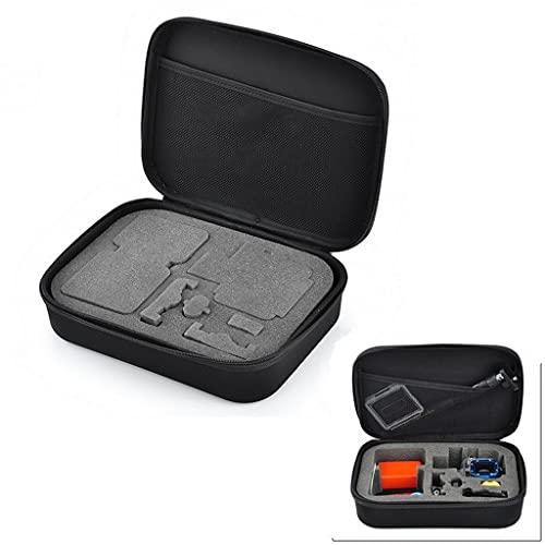 RYSF Bolsa de colección de Estuche de Almacenamiento portátil para cámara Deportiva para GoPro Hero 8 7 6 5 4 Session SJCAM Yi 2 4K Mijia Go Pro Accesorios (Size : 22x17x6.5cm)