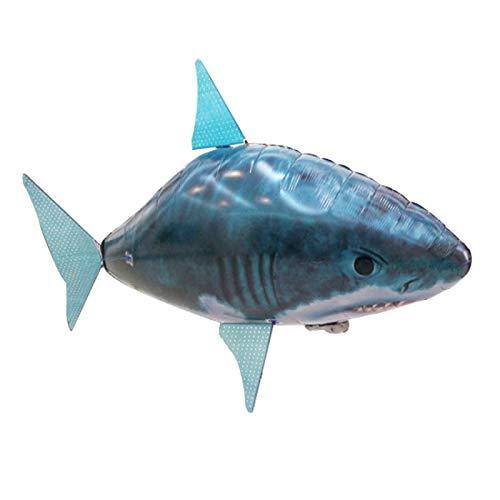 COJJ Pez Volador de Control Remoto, tiburón pez Payaso, pez Volador, Modelo, Juguete 1