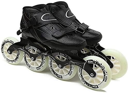 Patines para rodillos al aire libre Patinaje en línea Patines en línea Adultos Profesionales Patines de velocidad en línea de alto rendimiento Mujeres y skates de carreras para hombre para principiant