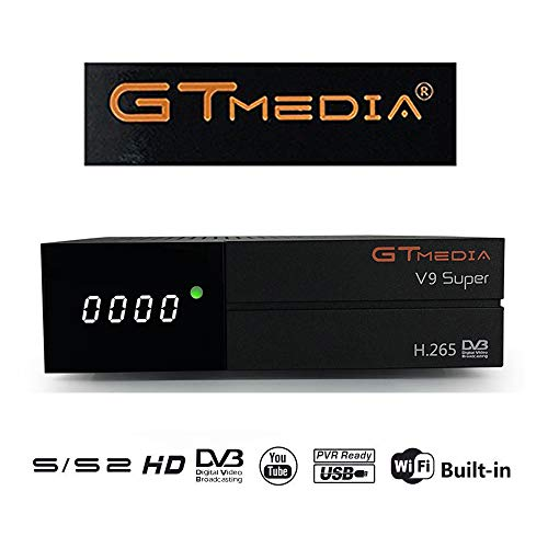 GTMedia V9 Super DVB S2 TV ricevitore Satellite decoder Support 1080P Full HD PowerVu Biss chiave Newca CCCAM con Built-in WiFi