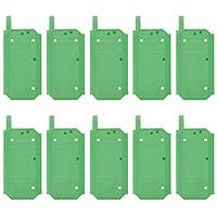 Eryanone エヤノン接着剤ステッカー Galaxy S8 / G955用バッテリー粘着テープステッカー10個のPC バックハウジング