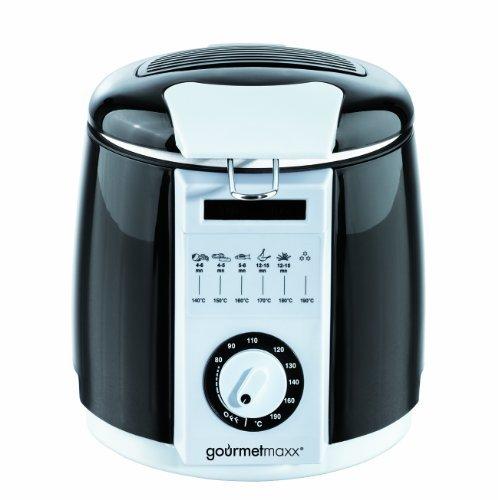 GOURMETmaxx Friggitrice multi-profonda | Selettore di temperatura fino a 190 ° C / volume olio 1 litro / 840 watt