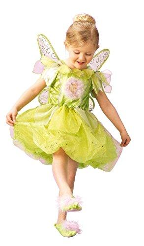 Rubies 3 883685 S - Disfraz infantil de campanilla (3-4 años)