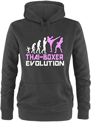 EZYshirt® Thai Boxing Evolution Damen Hoodie