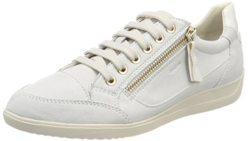 UK Myria D A Women's Top Geox Low SneakersOff White4 CBoedxWQr