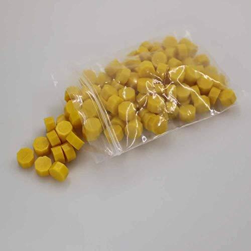 BTKNOO Weinlesesiegelwachstabletten-Pille bördelt Körnchen- / Korn- / Streifenstöcke für das Stempeln des Alten Siegelwachses 95~100pcs des Wachses in der Tasche, HQ203-1