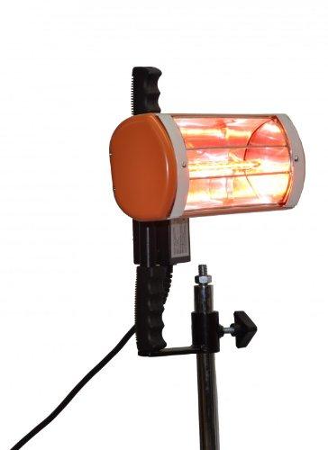 Heat light portatile a colori e colore l'asciugatura System 1000 W con tecnologia a infrarossi