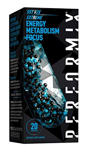 Performix SST v2X Extreme Thermogenic Fat Burner, Weight Loss Supplement, Metabolism & Energy Booster, Focus, 40 Count