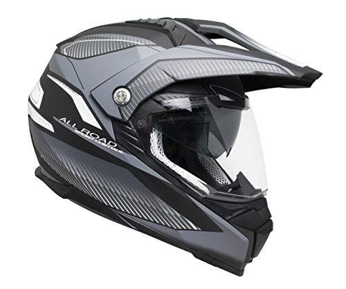 606G-ASV-10 TITANIO MATE (XL) Helm CROSS (FORWARD) mit Display