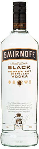 Smirnoff Black No. 55 Small Batch Premium Vodka (1 x 1 l)