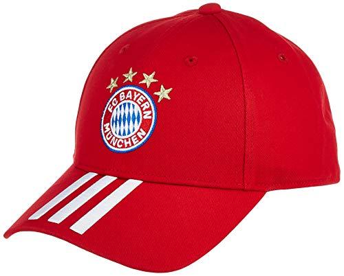 adidas FC Bayern Baseball Cap Baseballkappe, Fcbtru/White, OSFM