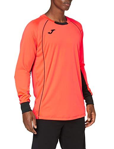 Joma Protect 100447 T-Shirt de Gardien de But pour Homme, Homme, 100447.040.4XS, Corail Fluo, 3XS