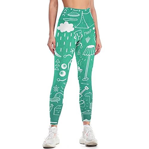 QTJY Pantalones de Yoga para Mujer, Cintura Alta, Sexy, Pantalones de Yoga para Levantar la Cadera, Ejercicio Push-up, Pantalones Deportivos Ajustados para Celulitis, F M
