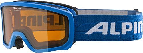 ALPINA SCARABEO JR. Skibrille, Kinder, lightblue, one size