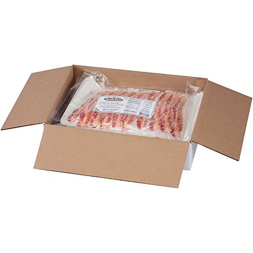 Sara Lee Jimmy Dean Fully Cooked Center Piece Bacon, Regular - 150 per pack -- 2 packs per case.