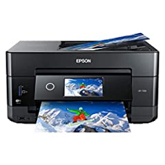 This printer is designed for use with Epson cartridges only, not third party cartridges or ink; Cartridges described as Compatible, Re manufactured, refilled or refillable may not work properly or at all; See product description for more details Supe...