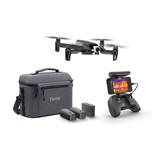 SILENTLY Cámara Térmica 4K-Drone, 2 Kilometro Profesional Rango A Través De WiFi Drone/GPS/USB-C Puerto De Carga/WiFi RC Drone/Helicóptero Plegable