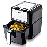Air Fryer - Mini Air Fryer 3.2L No Oil Compact Airfryer with Timer and Temperature Control Non Stick Basket Multi-Function French Fries Machine