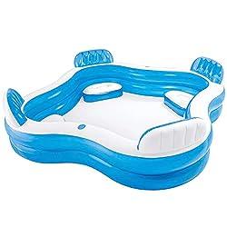 Planschbecken und pools produktvorstellungen angebote - Intex swim center family lounge pool blue ...
