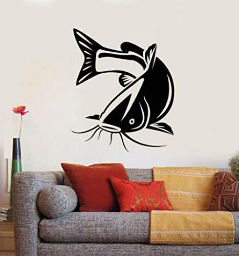 TRB muur StickersVinyl muursticker Fisher hobby grote vissen grote vissen vissen aquarium sticker