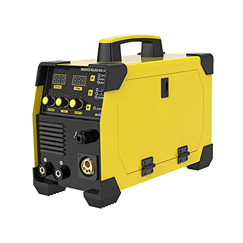 DUTUI Máquina De Soldadura con Inversor Digital 3 En 1, Kit De Máquina De Soldadura 50-180Amp, Máquina De Soldadura Eléctrica Portátil De Elevación