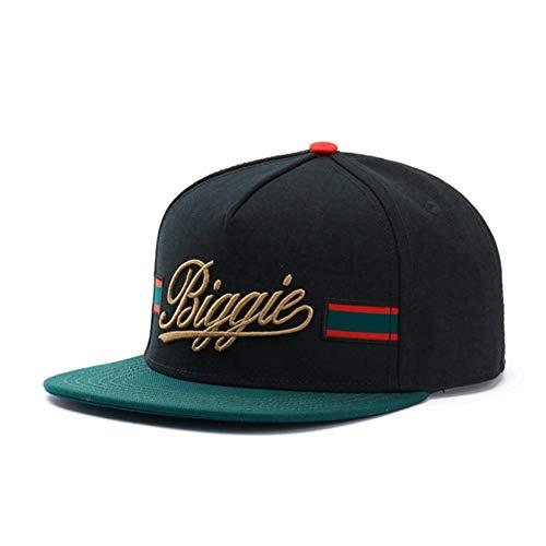 Fnito Baseball Cap Biggie Cap Hysteresenhut für Männer Frauen Erwachsene Hip Hop Headwear Outdoor Casual Sun Baseball Cap Knochen