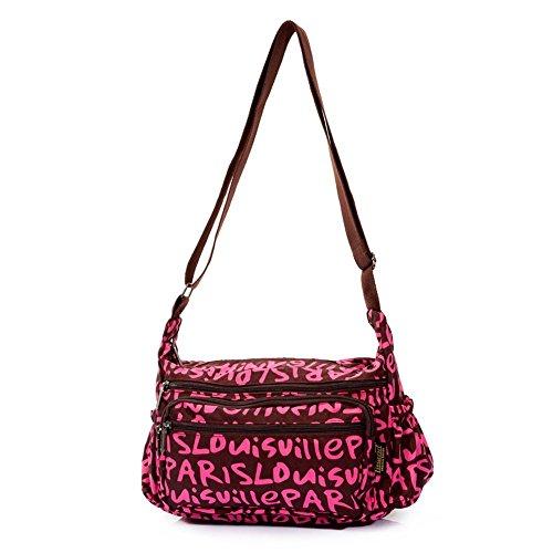 Sincere® sac de la personnalité de la mode féminine Moyen-âge / Messenger / sac bandoulière-3