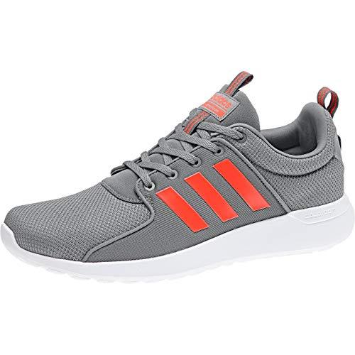 adidas Cloudfoam Lite Racer, Zapatillas de Running para Hombre, Gris (Grethr/Solred/Corred 000), 43 1/3 EU