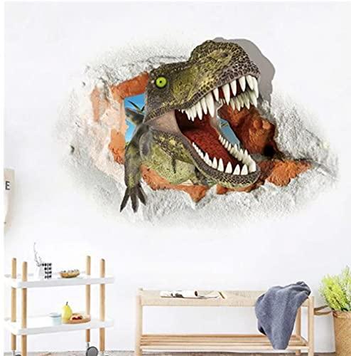 Ziruixiong 3D Dinosaurio Antiguo Etiqueta De La Pared Dormitorio Decoración Del Hogar Período Animal Movie Poster Poster Wall Sticker