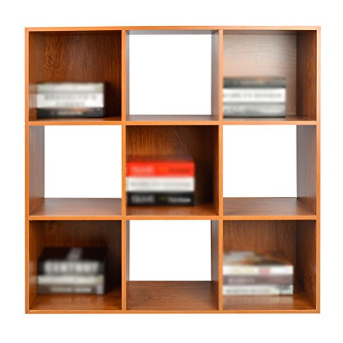 DFHHG® Bücherregal, Bücherregal Holz Kirsche Holz Farbe Jiugongge dauerhaft