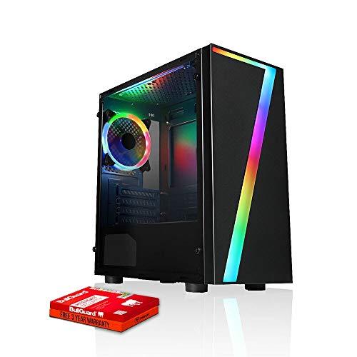 Fierce Reaper RGB Gaming PC - Veloce 4.1GHz Hex-Core Intel Core i5 9400F, 1TB Disco Rigido, 16GB 3000MHz, NVIDIA GeForce GTX 1050 Ti 4GB, Finestre non Incluso 1005039