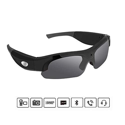 Occhiali da Sole Fotocamera, HD 1080P Portable Telecamera Nascosta Occhiali con Audio E Video Registratore Spy Bicchieri Adatti per Gli Sport/Ciclismo/Arrampicata Etc