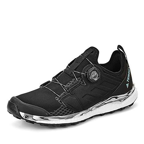 adidas Terrex Agravic Boa W, Chaussure de Piste d'athlétisme Femme, Noir Noir/Non Teint/Gris Cendre S18, 37 1/3 EU