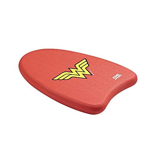 Zoggs Kids DC Super Heroes Wonder Woman Swimming Kickboard Float RedYellow 3 12 Years