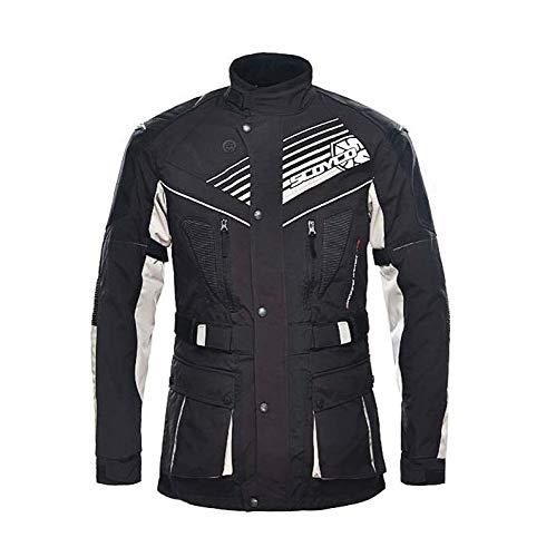 jacket Pantalon De Costume De Course De Moto De Vélo De Montagne Costume Résistant à La Pluie Anti-Chute Chevalier équipement De Protection Vêtements D'équitation Hommes,XXXL