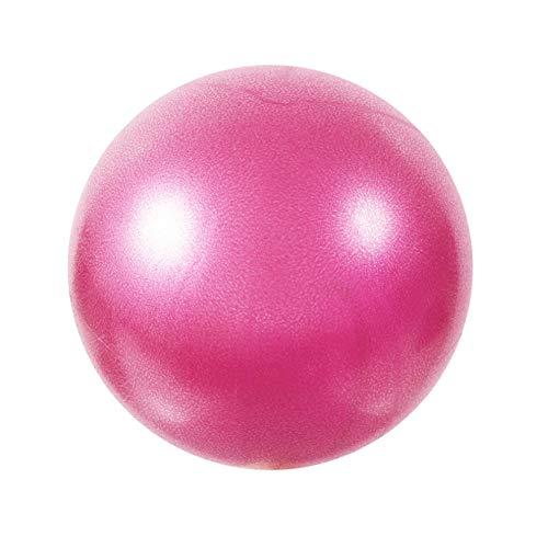 Eachbid Softball Pilates, Pelota de Pilates de 25 cm, Mini Balones Yoga, Pilates Pelota Equilibrio, Pelota de Ejercicios para Gimnasio, Yoga, Masaje y Pilates en Casa, Material Fitness (Rosa)