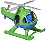 Green Toys Helicopter, Green/Blue CB - Pretend Play, Motor Skills, Kids Flying Toy Vehicle. No BPA, phthalates, PVC. Dishwasher Safe, Recycled Plastic, Made in USA.