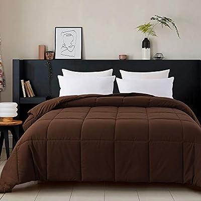 Cosybay Twin Comforter Chocolate, Down Alternat...