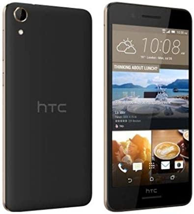 HTC Desire 728 Ultra Dual SIM - 32GB, 3GB RAM, 4G LTE, Black Gold