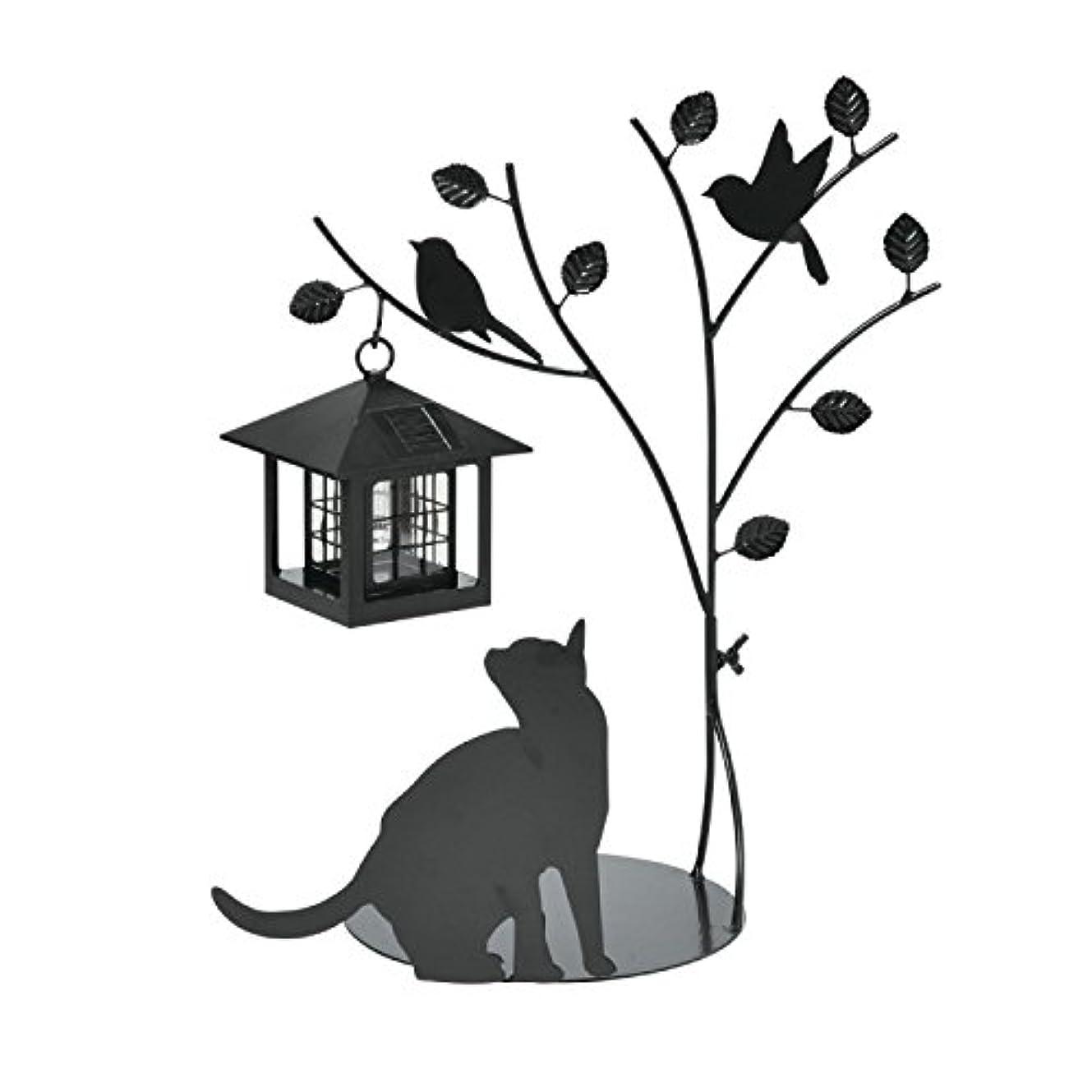 かわすタイムリーな部族シルエットソーラー 全2種類(Tree&Cat)