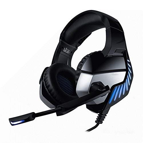 Auriculares ligeros para juegos Auricular for juegos de alta fidelidad estéreo de subwoofer 7.1 virtual con el micrófono auricular for juegos de PS4 PC Xbox One para Laptop Tablet Mac iPad