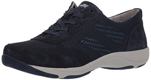 Dansko Women's Hayes Sneaker, Navy Suede, 42 M EU (11.5-12 US)